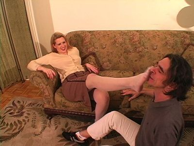 Mistress Morgan punishes her cuckolded roommate